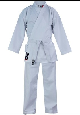 Lightweight White Karate Uniform