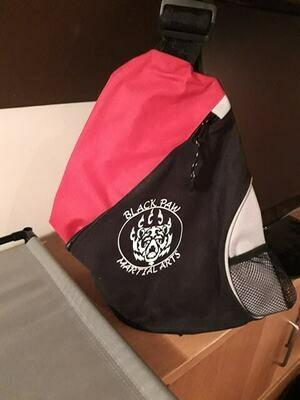 Red Mono Strap Over Shoulder Bag