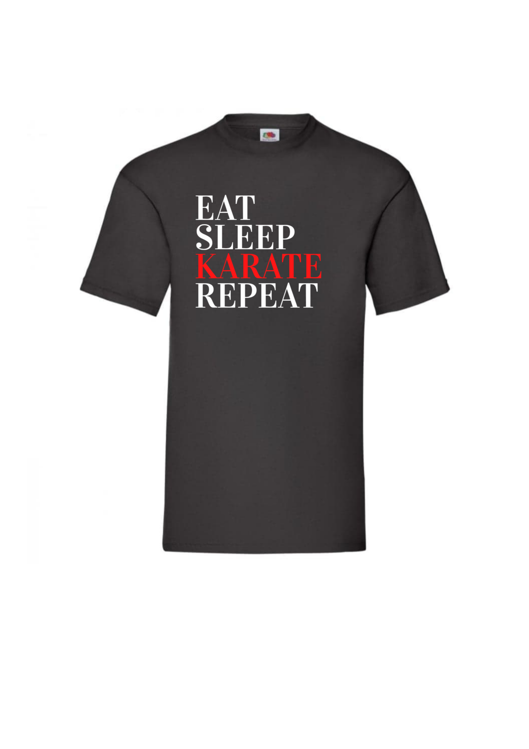 Eat Sleep Karate Repeat Tshirt