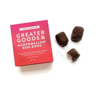 Greater Goods CBD Marshmallow Bon Bons