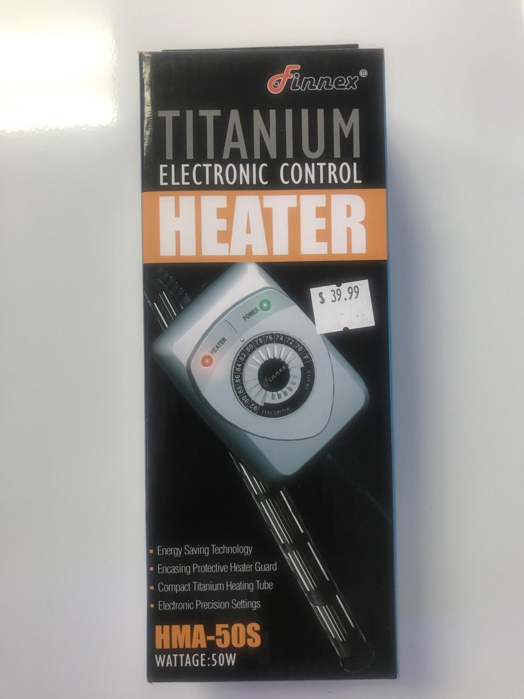 Finnex Titanium Heater With Control 50W