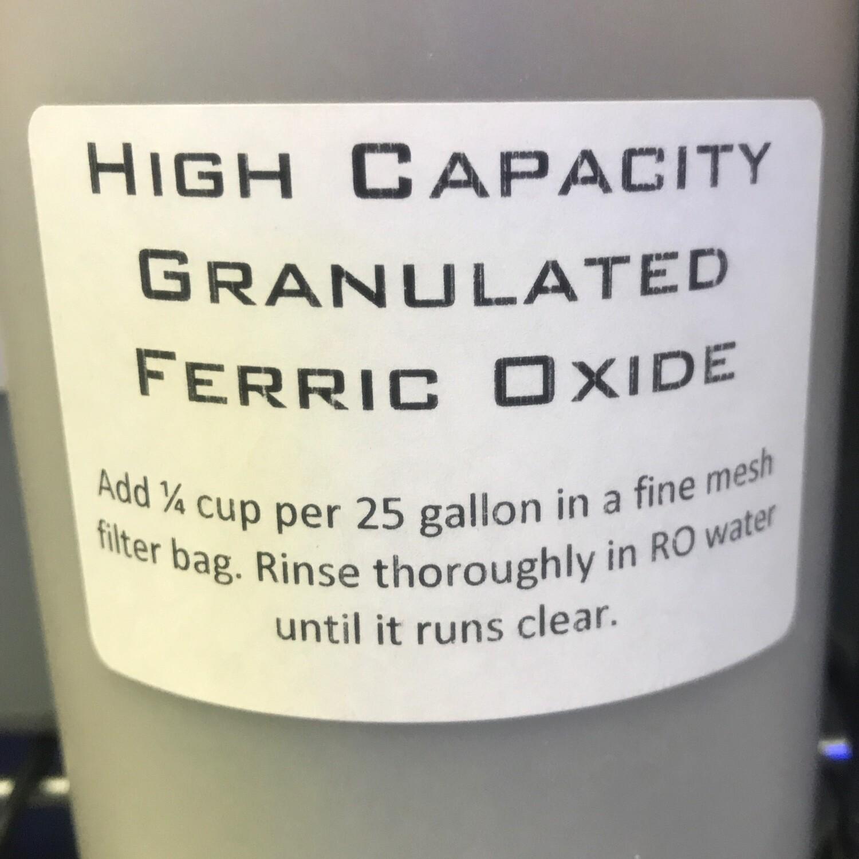 High Capacity Granulated Ferric Oxide GFO