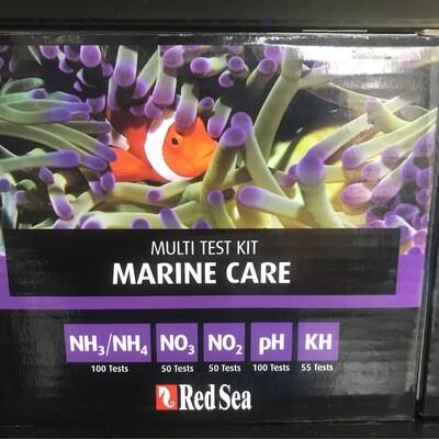 Red Sea Multi Test Kit Marine Care