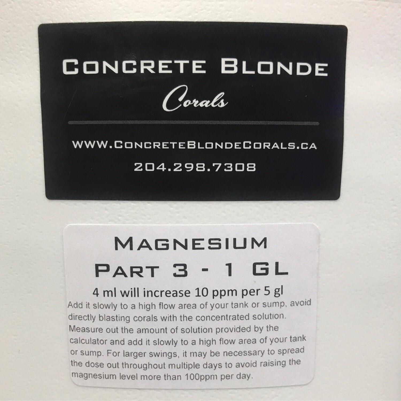 1 GL Magnesium Liquid Mix