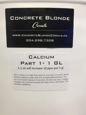 1 GL Calcium Liquid Mix