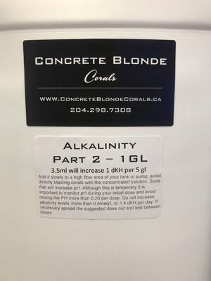 1 GL Alkalinity Liquid Mix