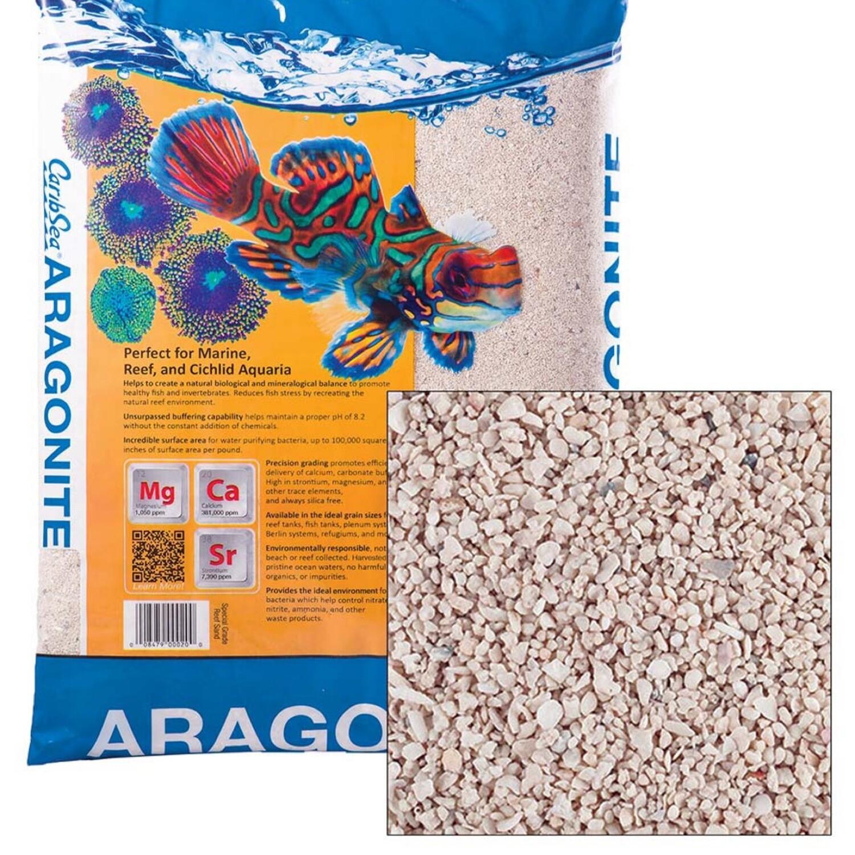 CaribSea Aragonite Aragamax Select Sand 30lbs