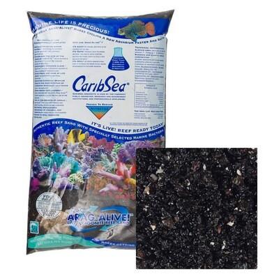 CaribSea Arag-Alive Hawaiian Black Sand 20lbs