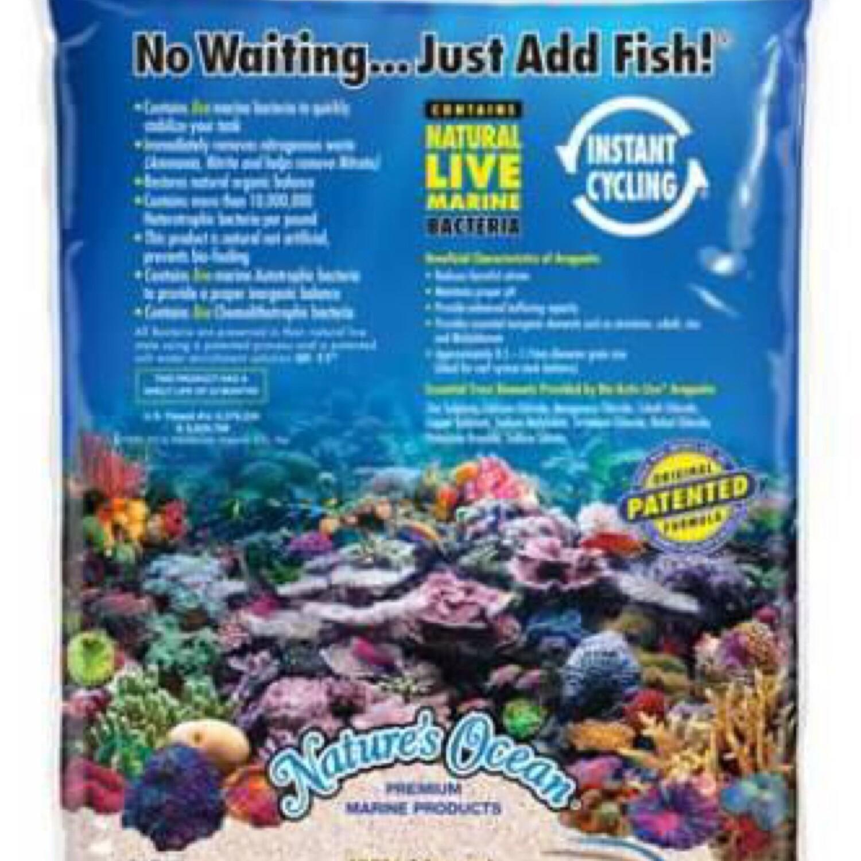 Natures Ocean Bio-Active Live Reef Sand 20lbs