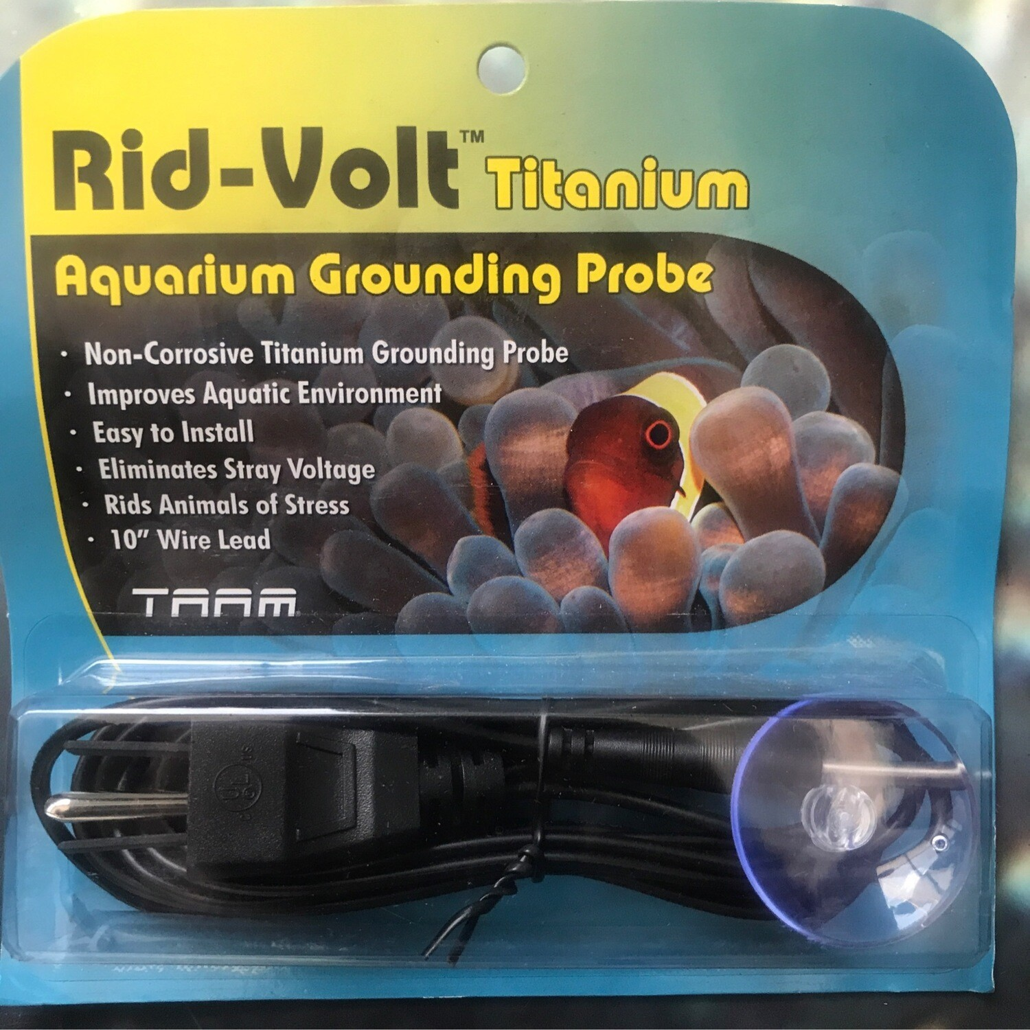 Rid-Volt Titanium Grounding Probe