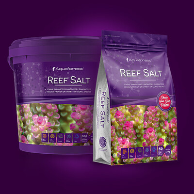 Aqua Forest Reef Salt