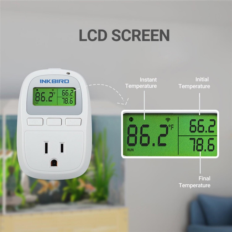 Inkbird 1200w Dual probe WiFi Thermometer Controller