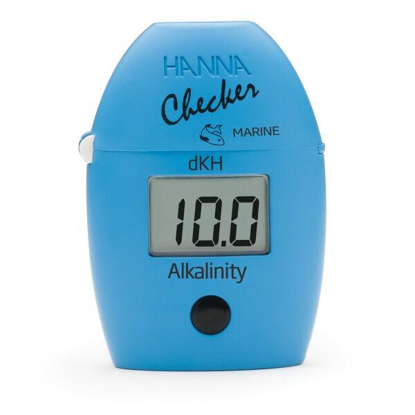 Hanna Checker Saltwater Aquarium Alkalinity Colorimeter (dKH) HI772