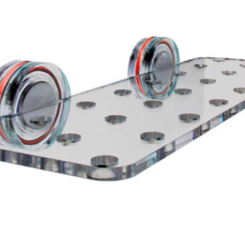 AquaMaxx 23 Hole Frag Rack with Magnet Mount
