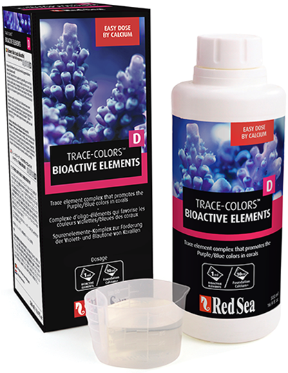Red Sea Trace-colours D Bioactive Elements 500ml