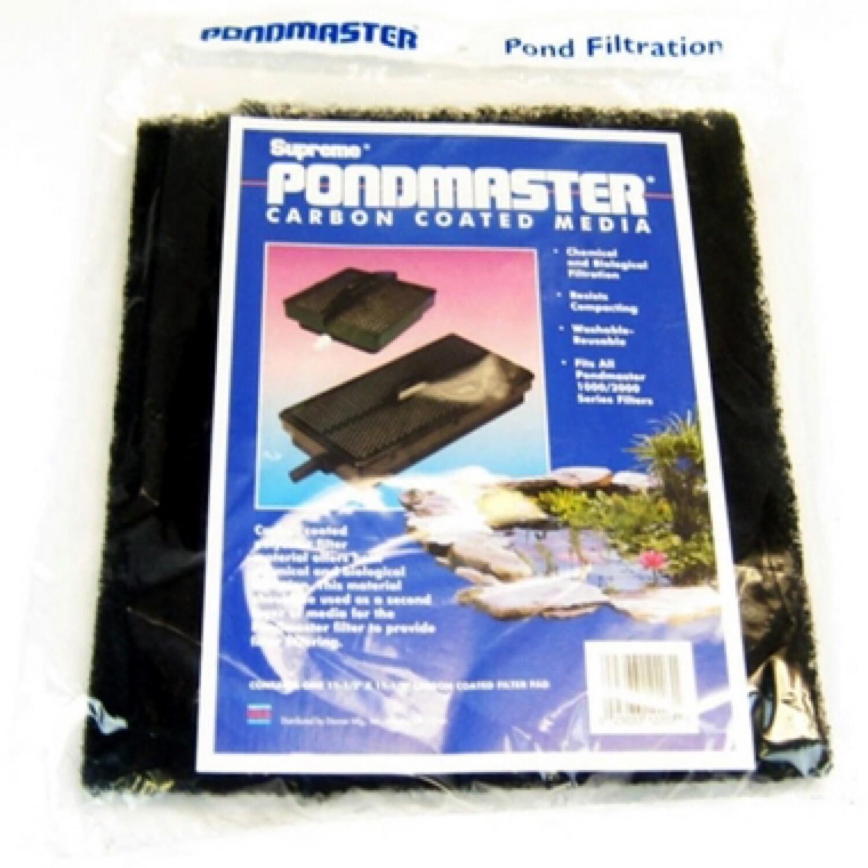 Pondmastwr Carbon Coated Media