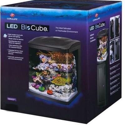 (Open box) Coralife Biocube 32G Aquarium w/ LED's
