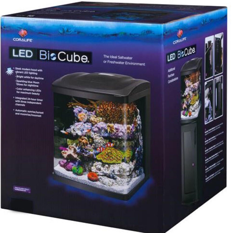 Coralife Biocube 16G Aquarium w/ LED's