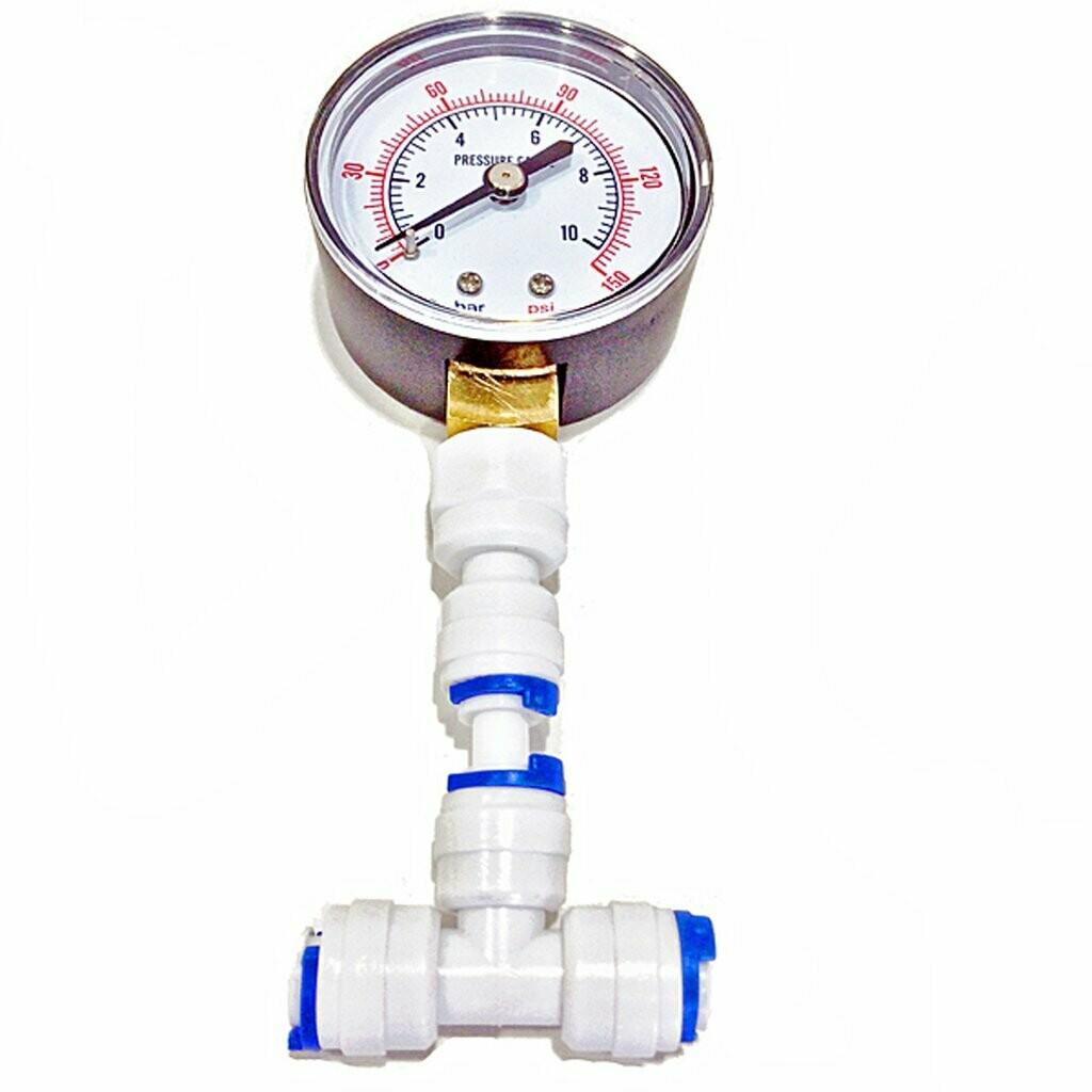 Aquatic Life Reverse Osmosis Pressure Gauge