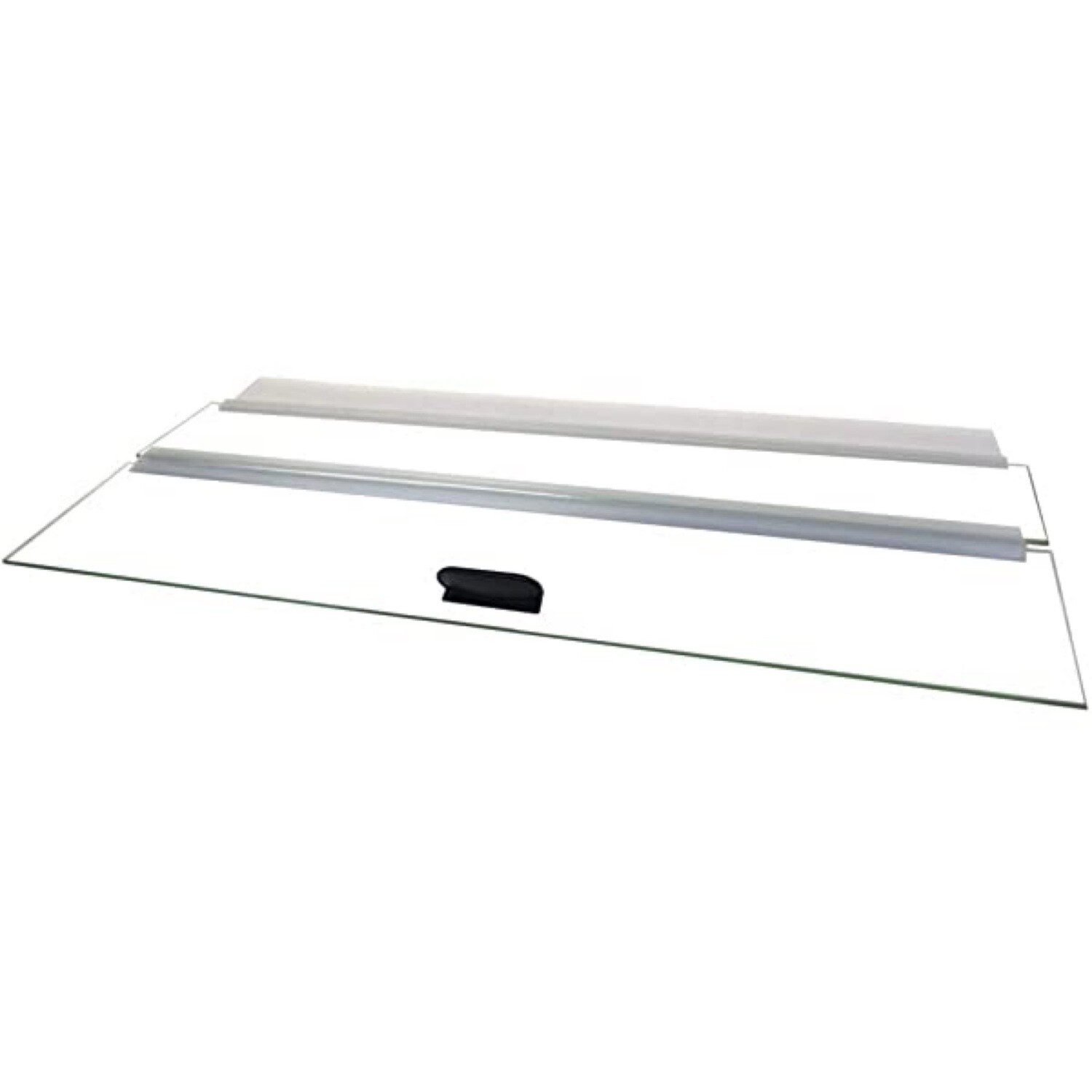 Glass Canopy Lid with hinge and handle 24""