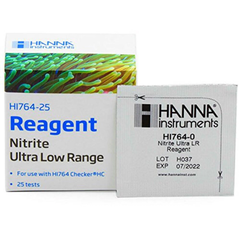 Hanna Instrument Nitrite Ultra Low Range Reagents HI764-25 (25 units)
