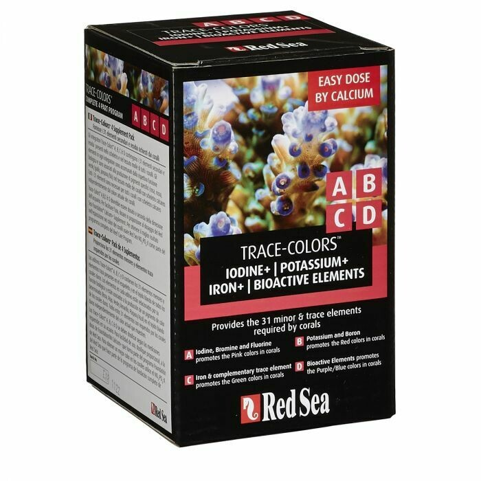 Red Sea Trace-colours Kit ABCD