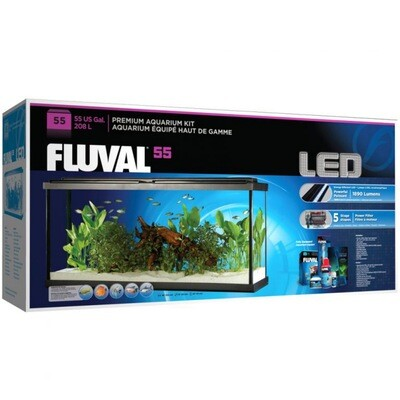 Fluval 55 gal LED Aquarium Kit (Open Box)