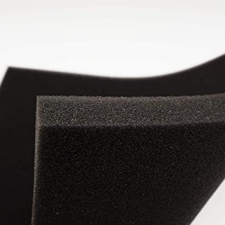 "Foam filter pad 2 pack 20 PPI 13"" x 13"" x 1"""