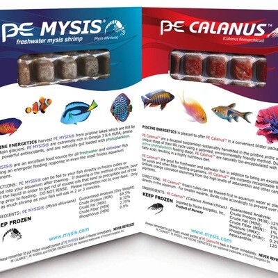 PE Mysis & Calanus Blister Twin Pack 8oz
