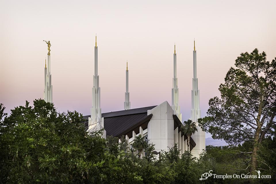 Las Vegas NV LDS Temple - Heavenward - Full Color Print