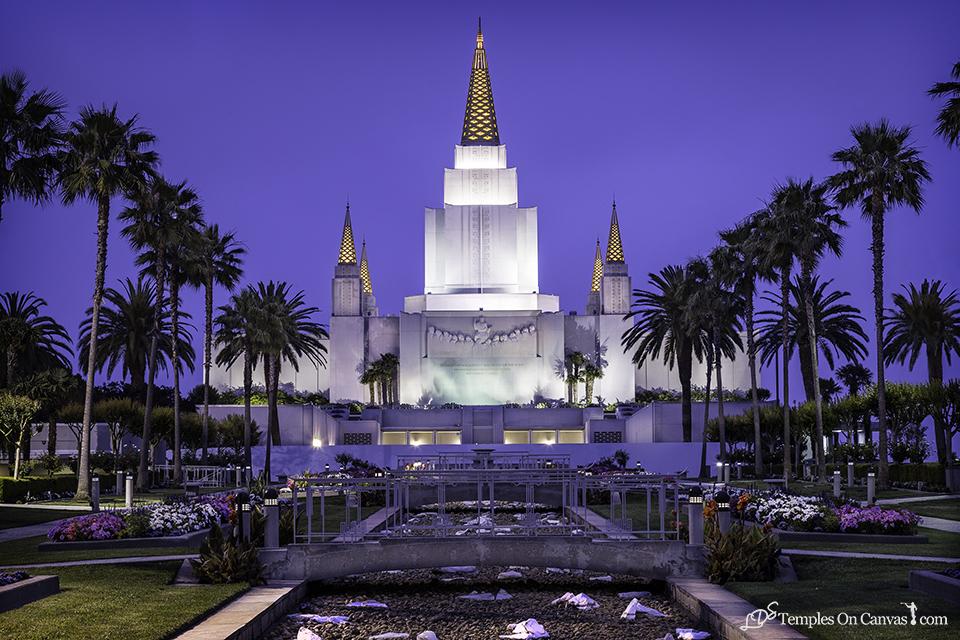 Oakland CA LDS Temple - Heavenward - Full Color Print