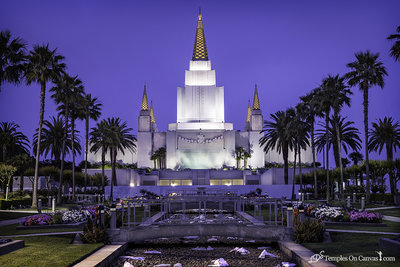 Oakland CA LDS Temple - Heavenward - Full Color Print