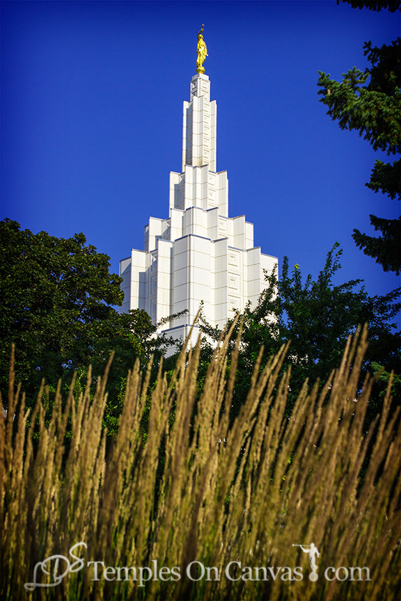 Idaho Falls Idaho Temple Art - Beacon of Light