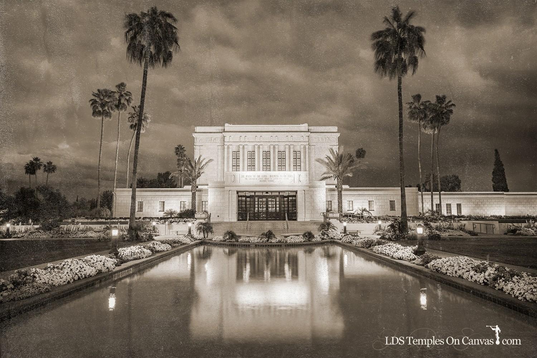 Mesa Arizona LDS Temple - Tempest - Rustic