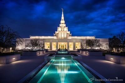 Phoenix AZ LDS Temple - Tempest - Full Color Print