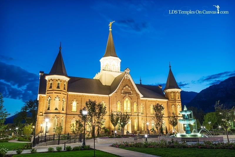 Provo City Center Utah LDS Temple - Rise Up - Color