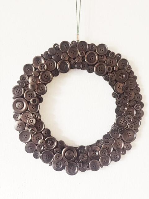 Button Wreath (Big)