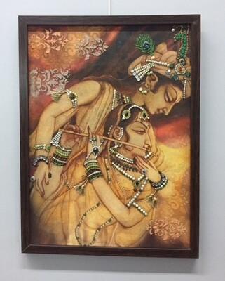 Radhe Krishna frame