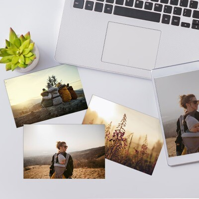 10x15 cm print på fotopapir