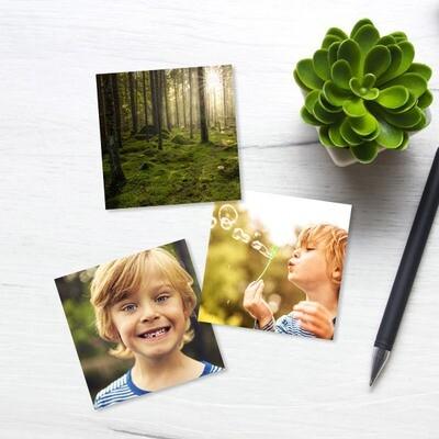 10x10 cm print på fotopapir