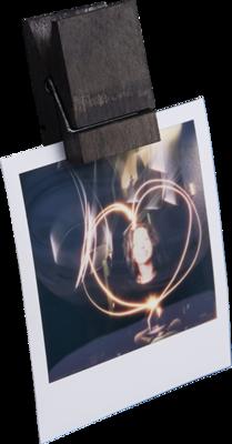 Bildeholder treklype med magnet