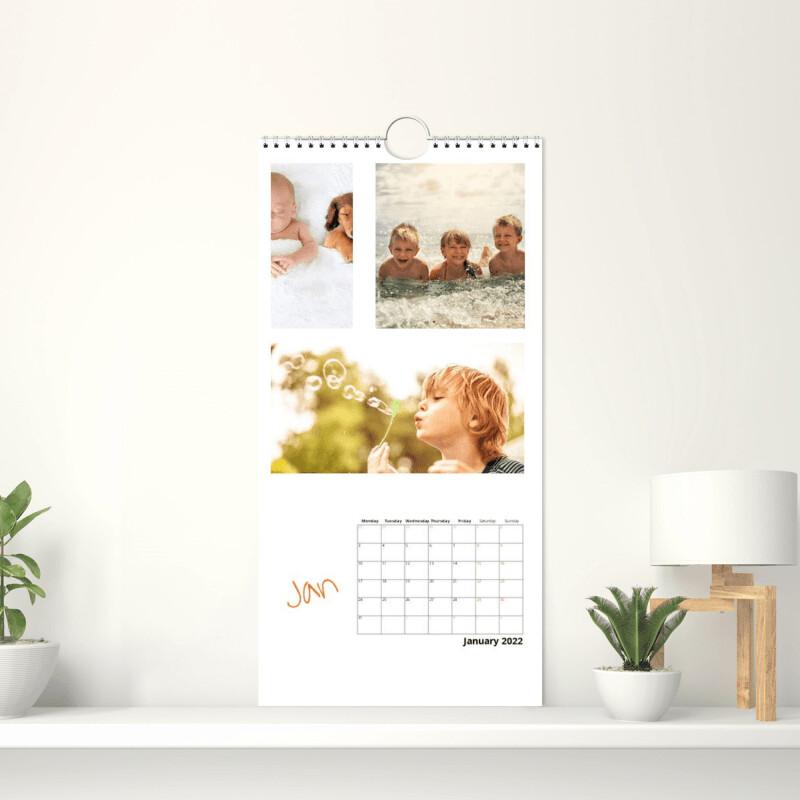 Fotokalender 15x30 cm