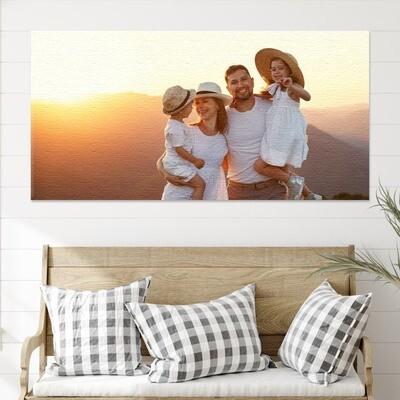 Fotolerret panorama 200x100 cm