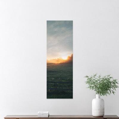 Fotolerret panorama 40x120 cm