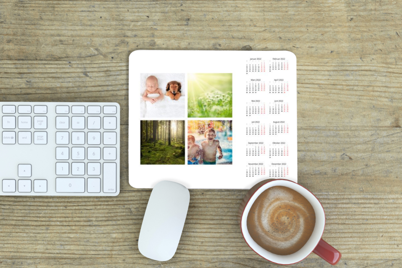 Musmatte med Kalender