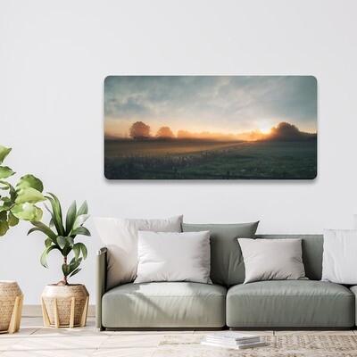 40x80cm print på aluplate