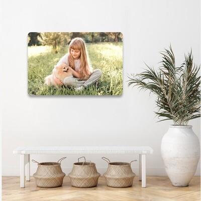 40x60cm print på aluplate