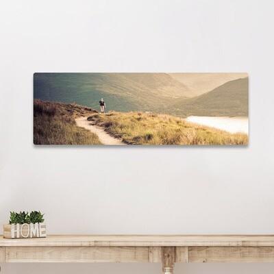 40x120cm print på aluplate