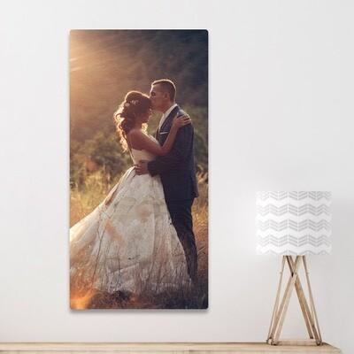 50x100cm print på aluplate