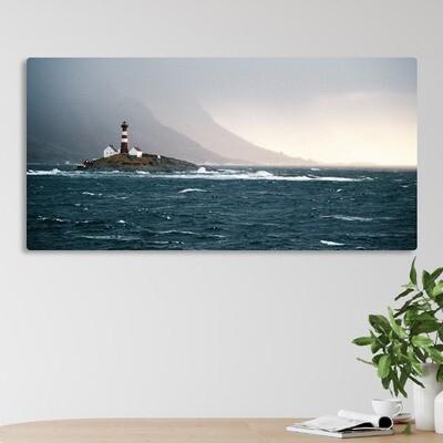 70x140cm print på aluplate